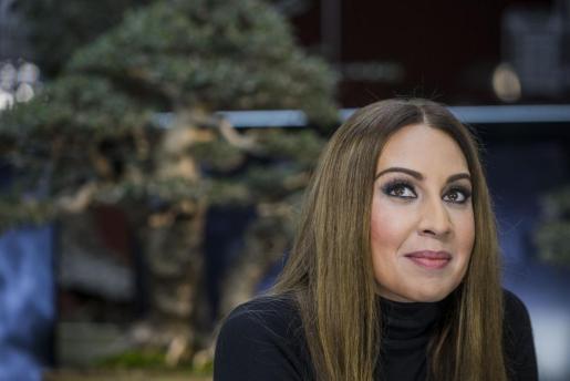 La artista Mónica Naranjo.