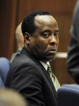 El doctor Conrad Murray, durante una de las sesiones del juicio por la muerte de Michael Jackson.