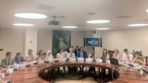 Busquets ha dado la «enhorabuena» al Gobierno central por convocar la Conferencia Sectorial de Turismo, donde han estado presentes todas las comunidades.