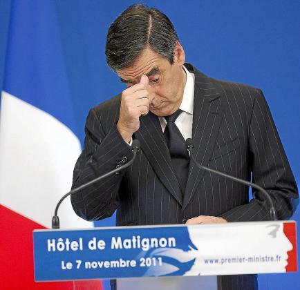 El primer ministro francés, François Fillon, presentó el plan de ahorro del Gobierno.