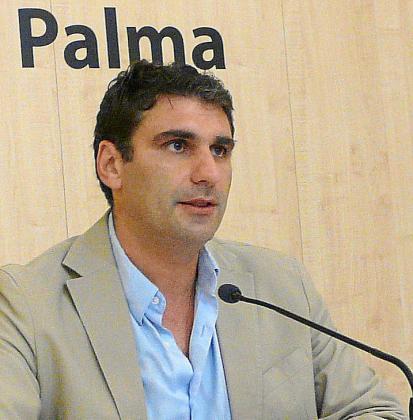 Julio Martínez, regidor de Hacienda del Ajuntament de Palma.