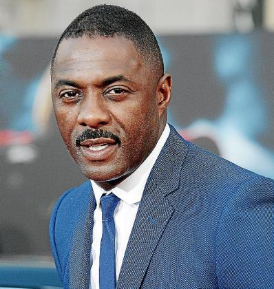 El actor y productor Idris Elba.