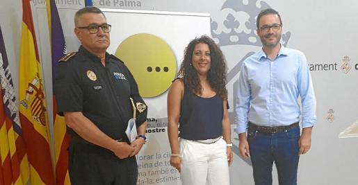 Josep Palouzié, Angélica Pastor y José Hila presentaron la campaña de inspección.