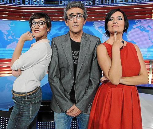 Ana Morgade, David Fernández y Silvia Abril estrenan programa.