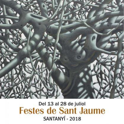 Cartel de las fiestas de Sant Jaume en Santanyí 2018.