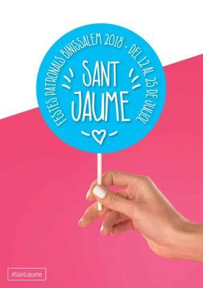 Cartel de las fiestas de Sant Jaume de Binissalem.