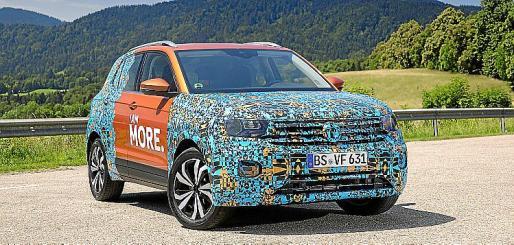 El nuevo T-Cross compartirá plataforma con el Volkswagen Polo.
