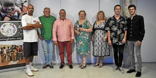 Samuel Sánchez, Paco Sanblás, Josep Palacios, Casandra, Isabel Monterroso, Marc Bergas y Carlos Ginard.