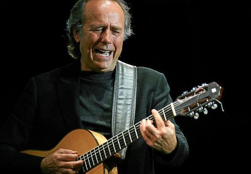 El cantante y compositor Joan Manuel Serrat, que recala el viernes en Palma.