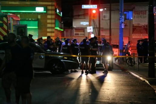 Vista general del atentado ocurrido el pasado 22 de julio en Toronto.