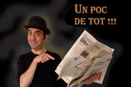 El humorista Xavi Canyelles lleva su espectáculo a La Movida.