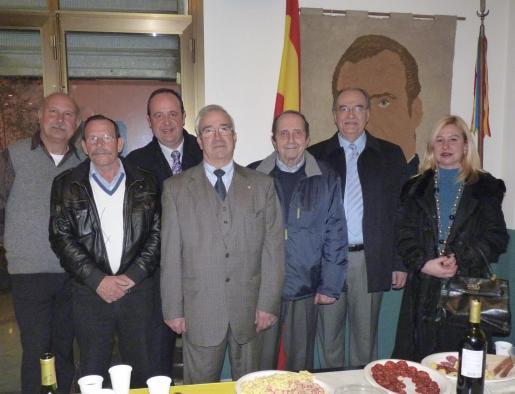 Mariano Mayans, Antonio Hidalgo, Antoni Portells, José Luis Picó, Ramón Isasi, Rafael Pericás y Julieta Almagro.