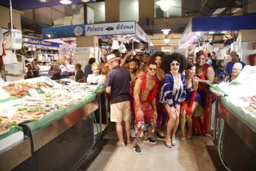 Estreno del pasacalles de The Hole Zero liderado por La Terremoto de Alcorcón en Palma.
