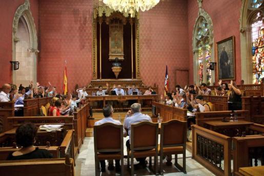 Pleno del Consell de Mallorca.