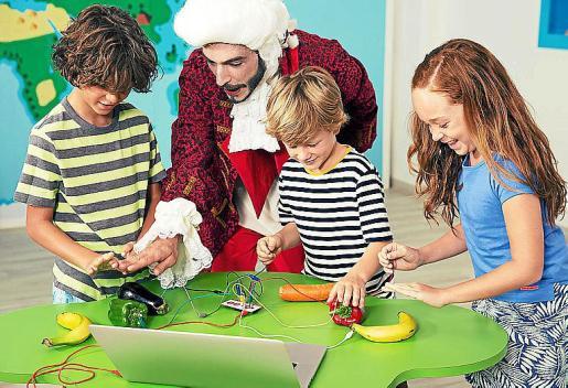 El concepto de animación infantil Happy Minds se basa en la teoría de las inteligencias múltiples.