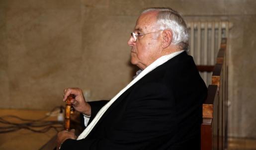 Antoni Calvo, durante el juicio.