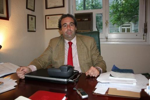Antonio Alberca, en su despacho, en una imagen de archivo.