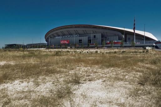 Vista general del Wanda Metropolitano, el estado del Atlético de Madrid.