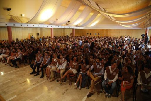 Imagen de la ceremonia de Graduación de la Escuela Politécnica Superior.