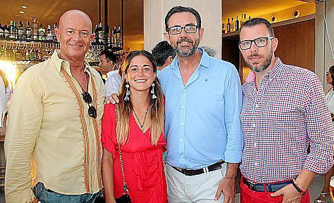Miquel Rullan, Ana Rullan, Alejandro Sáenz de San Pedro y Tomeu Alcover.
