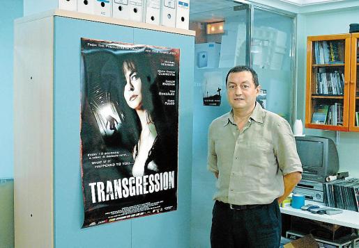 El productor mallorquín Joan Ginard, en Barcelona.