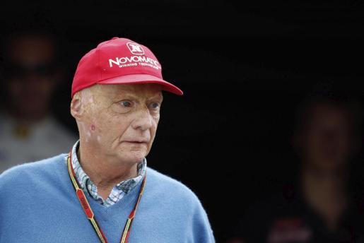 El presidente no ejecutivo de la escudería Mercedes AMG Petronas, Niki Lauda.