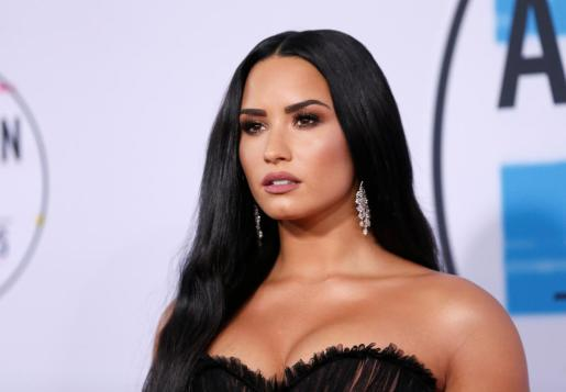 FILE PHOTO: Singer and actress Demi Lovato arrives at the 2017 American Music Awards in Los Angeles, California, U.S., November 19, 2017. REUTERS/Danny Moloshok/File Photo PEOPLE-DEMI LOVATO/