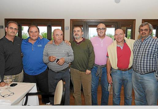 Fernando Jiménez, Juan Díaz, Bartolomé Rubí, Enric Adam, Edu Fluxá, Jordi Garrós y José María Judel.