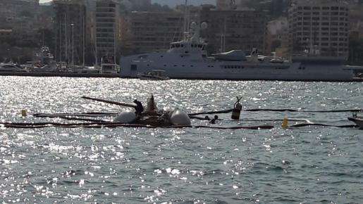 Sobre las 18.30 horas del sábado, el pesquero de los hermanos Fernández Díaz, de Almería, salía a faenar cuando, por causas que se desconocen, no se percataron de la presencia de un velero y les embistieron.