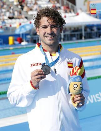 Joan Lluís Pons ha logrado la medalla de bronce continental en los 400 estilos.