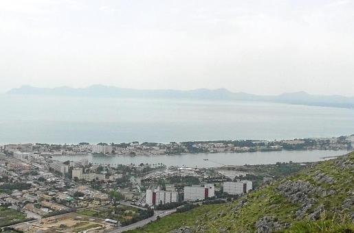 En la imagen, la zona situada entre Pere Mas i Reus y la Playa de Muro.