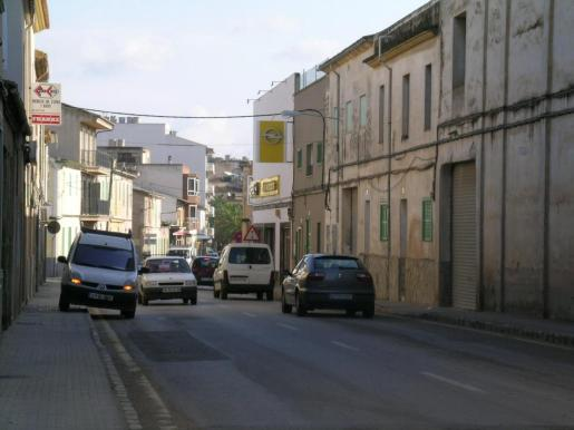 Vista de una calle del municipio de Felanitx.