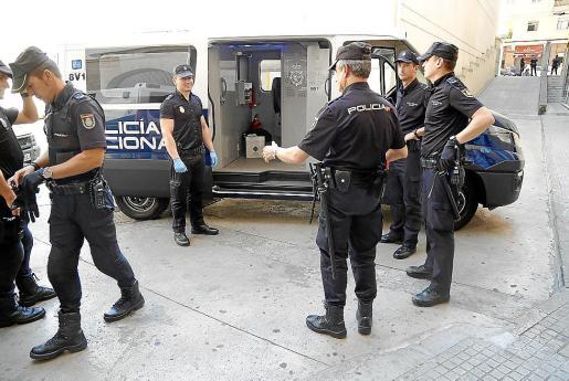 Los detenidos fueron puestos a disposición judicial en Vía Alemania.