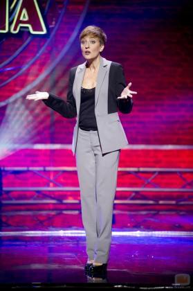 Eva Hache, en una de sus apariciones televisivas.