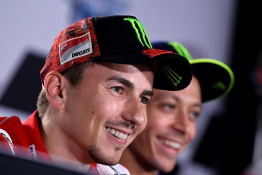 Fotografía facilitada por MotoGP del piloto de motociclismo español Jorge Lorenzo.