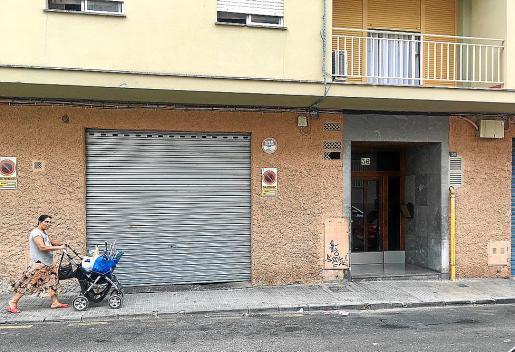 El garaje está ubicado en el número 36 de la calle Mont Lueri de Palma.