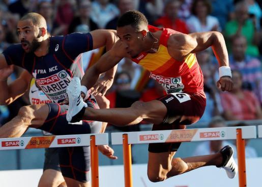 El atleta español Orlando Ortega.