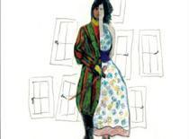 Horacio Sapere pone las ilustraciones a los poemas de Maria Victòria Secall en 'El dia que va néixer Orlando'.