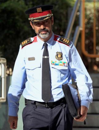 Imagen de Josep Lluís Trapero, mayor de los Mossos d'esquadra.