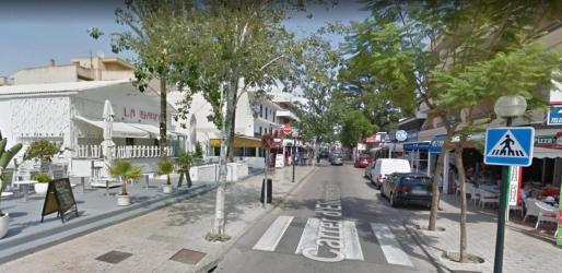 Los hechos sucedieron en la calle Leonor Servera de Cala Rajada.