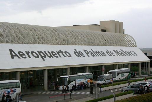 Imagen del aeropuerto de Son Sant Joan (Palma de Mallorca).