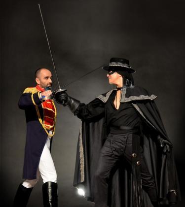 El musical 'Zorro' está basado en el legendario personaje inmortalizado en el cine.