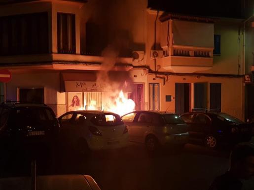 Imagen de archivo de uno de los puntos afectados por uno de los incendios.