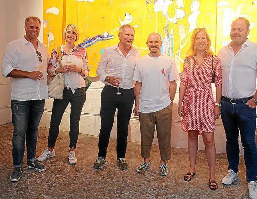Sebastian y Cristina Frankovsky, Gerhardt Braun, Rafa Macarrón, Christiane Fahrenhalz y Florian Neidlinger.
