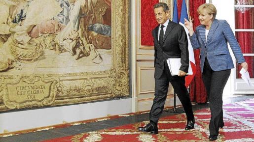 La crisis de la deuda en la zona euro puede acabar con la luna de miel en la que parecían estar la canciller Angela Merkel y el presidente Nicolas Sarkozy.