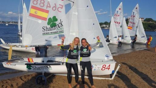 María Bover y Cata Homar despuntan en Newport.