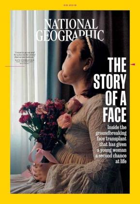 Portada de la revista National Geographic.