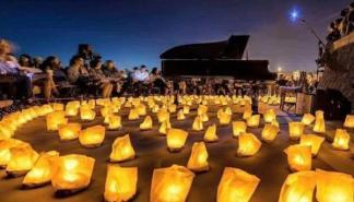 El pianista David Gómez regresa de nuevo con el proyecto '1 Piano & 200 Velas'