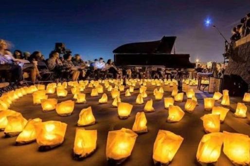 David Gómez de nuevo con '1 Piano & 200 velas'.