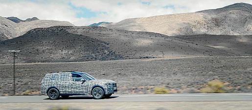 El nuevo 'Sports Activity Vehicle' se presentará a finales de año.